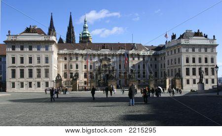 The Entrance Of Prague' S Castle Prague