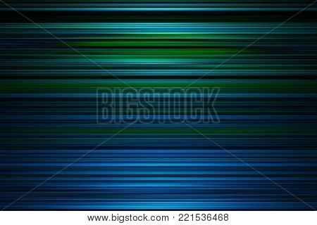 Blue and green stripes background with centre highlight