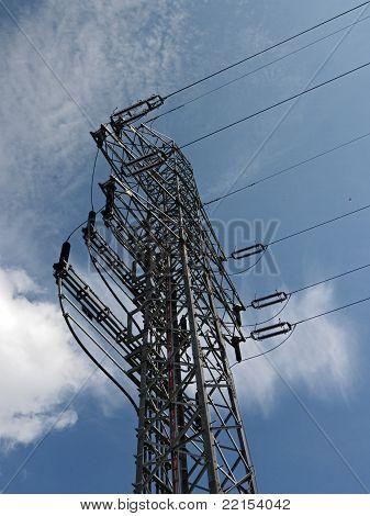 electric line pillar