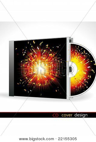 Vector cd cover