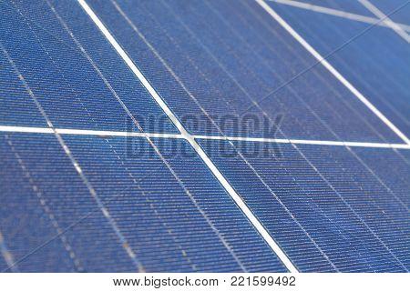 alternative energy, solar panel photo voltaic closeup