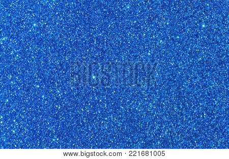 Shiny glimmering blue texture
