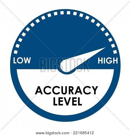 Accuracy level measurement