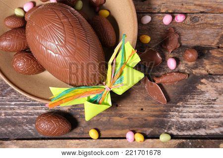 easter egg chocolate