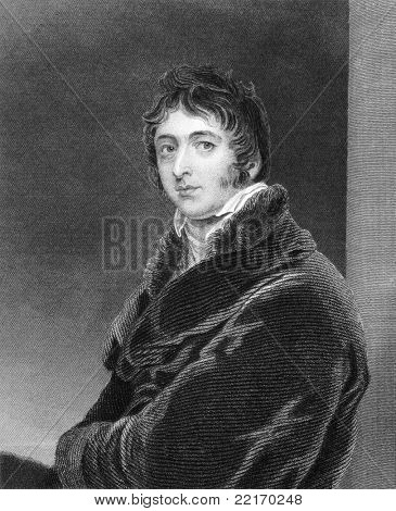 William Lamb (1779-1848). Engraved by S.Freeman and published in The National Portrait Gallery Of Illustrious And Eminent Personages encyclopedia, United Kingdom, 1835.