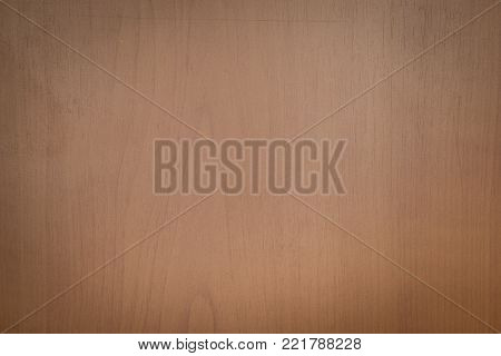 Surface of fake brown timber, photo of texture