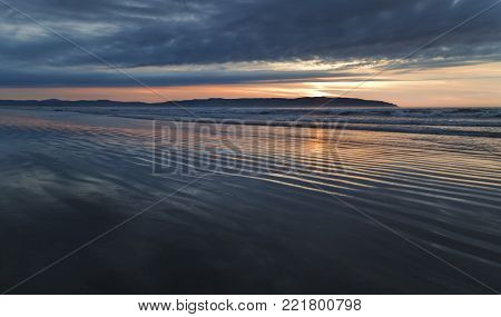 Benone Beach - A gorgeous sunset view from one of Ireland most beautiful beaches.