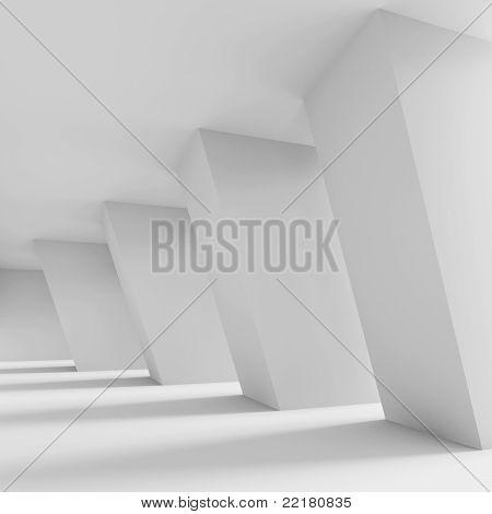 White Futuristic ?orridor