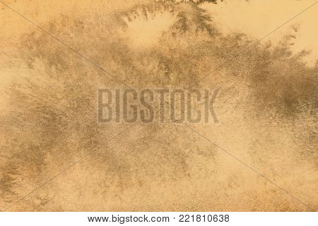 Aged old style vintage background. Old photo texture illustration stylization in sepia colors with blots, stains and scratches