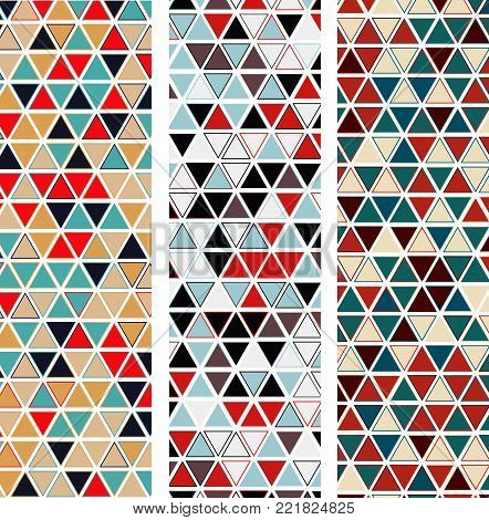 Vintage Graphic Pattern Set - Abstract Vector Old-Fashioned Print