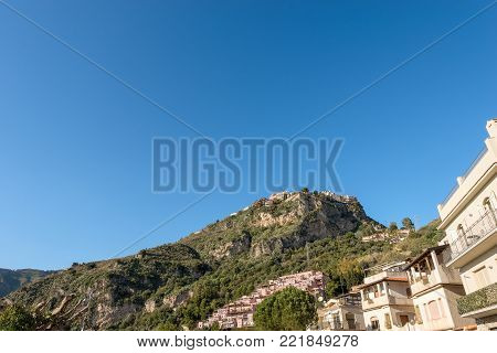 The Taormina town in the  Sicily island, Messina, Italy, Europe