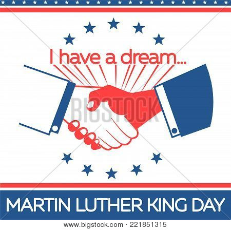 Luther King Day Illustration