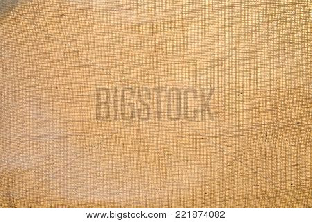 Light natural fabric linen texture for background