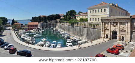 La porta di terra a Zadar