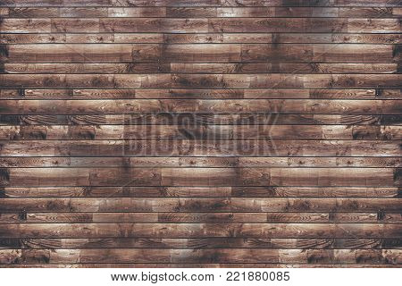 Reclaimed Wood Planks Wall Photo Background. Wooden Elements Mosaic.