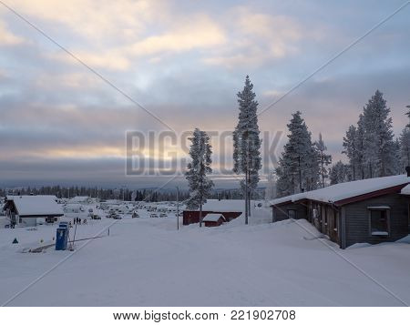 Storklinten, alpine mountain in north of Sweden