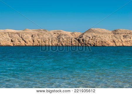 Lake Shore in the Ras Muhammad National Park, Egypt