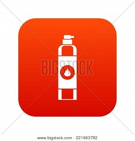 Air freshener icon digital red for any design isolated on white vector illustration