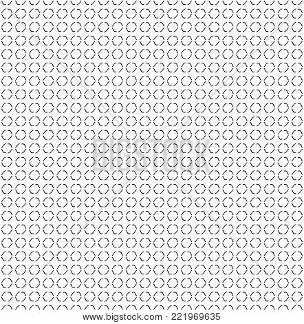 abstract texture hand curve line. seamless background. black curve on white.