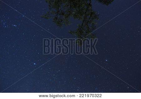 cielo bajo las estrellas en misiones aristobulo del valle