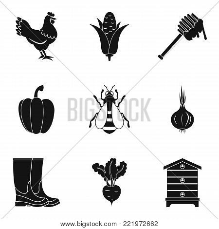 Gathering icons set. Simple set of 9 gathering vector icons for web isolated on white background