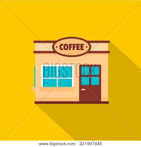 Coffee trade icon. Flat illustration of coffee trade vector icon for web.