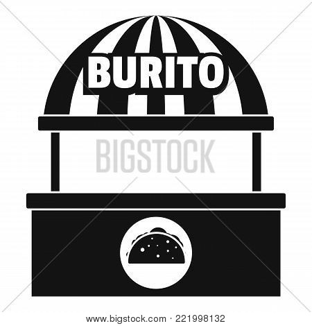 Burito selling icon. Simple illustration of burito selling vector icon for web.