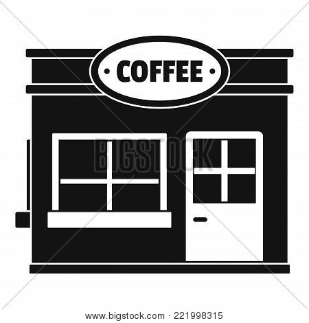 Coffee trade icon. Simple illustration of coffee trade vector icon for web.