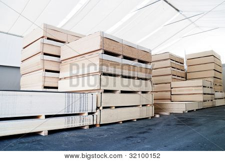 wood business storage warehouse store