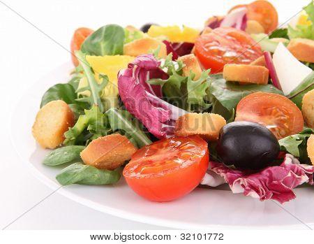 mixed salad poster