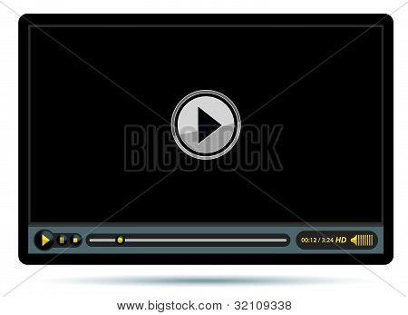Black Video Player