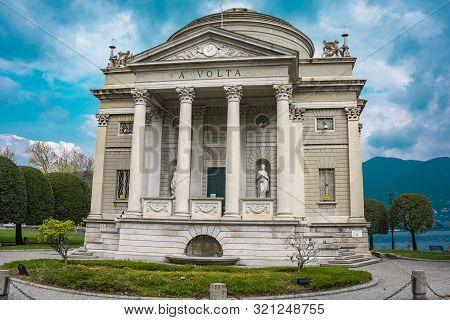Tempio Voltiano, A Museum In  Como, Italy, Dedicated To Scientist Alessandro Volta