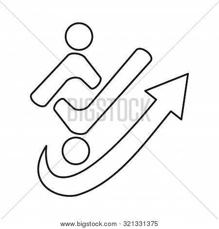 Arrow People Checklist Commitment Teamwork Together Outline Logo