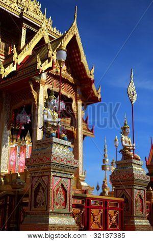 A Thai architechture.