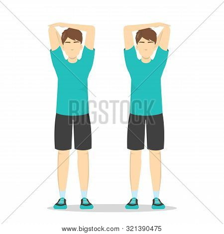 Shoulder Stretch Exercise. Stretch To Relieve Shoulder Pain