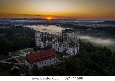 Zviretice Is A Ruin Of A Renaissance Chateau Rebuilt From The Original Gothic Castle Above The Villa