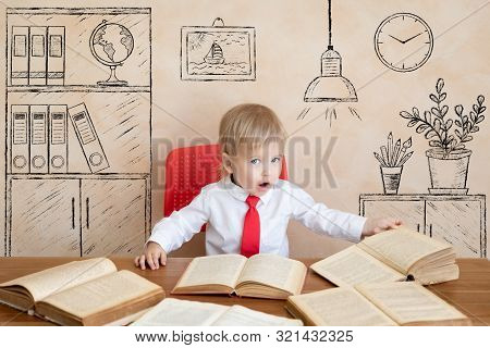 Education, Start Up And Business Idea Concept