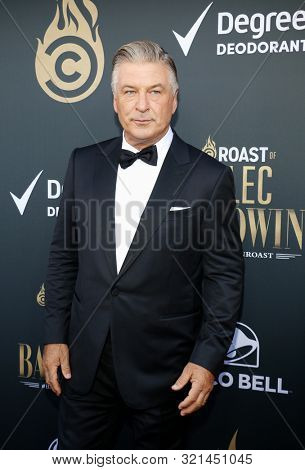 Alec Baldwin at the Comedy Central Roast of Alec Baldwin held at the Saban Theatre in Beverly Hills, USA on September 7, 2019.