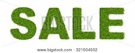 Fake Green Grass Word Sale Made Of Or Astroturf