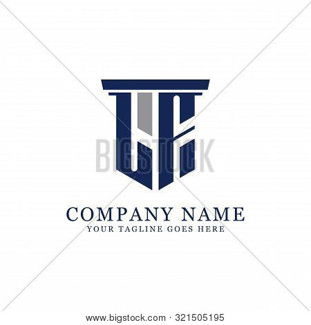 L F Initial Logo Designs Inspiration, L F Logo Vector, Can Used Firm, Finance, Sport Logo Template