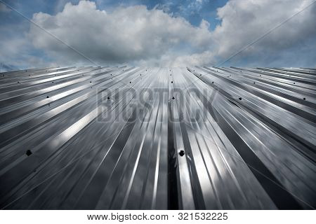 Black Metal Sheet Roof Black Metal Sheet Wall Background, Dark Background
