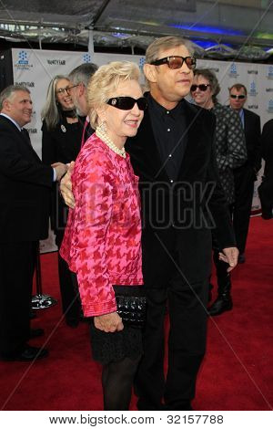 LOS ANGELES - APR 12:  Michael York, wife Pat arrives at the TCM 40th Anniv of