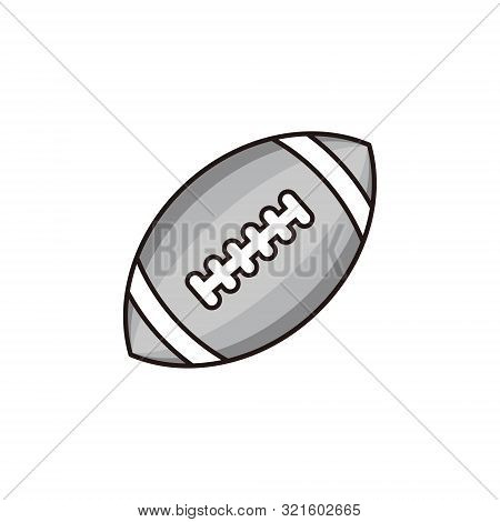 Football Icon Isolated On White Background. Football Icon Trendy And Modern Football Symbol For Logo