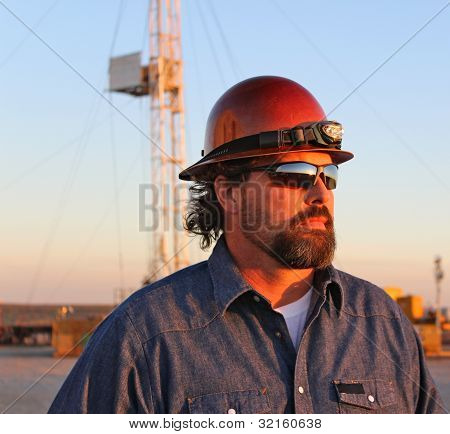 Oil Field Worker