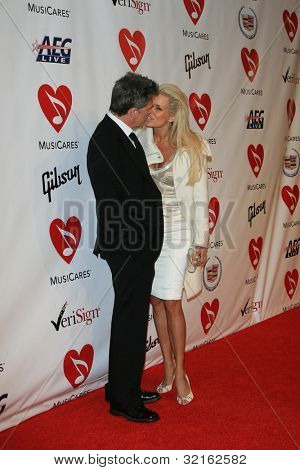 LOS ANGELES, CA - FEB 9: David Foster at the 2007 MusiCares Person Of The Year at the LA Convention Center on February 9, 2007 in Los Angeles, California