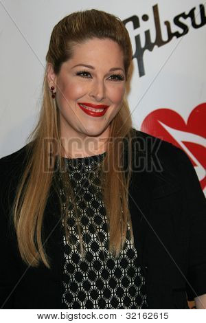 LOS ANGELES, CA - FEB 9: Carnie Wilson at the 2007 MusiCares Person Of The Year at the LA Convention Center on February 9, 2007 in Los Angeles, California