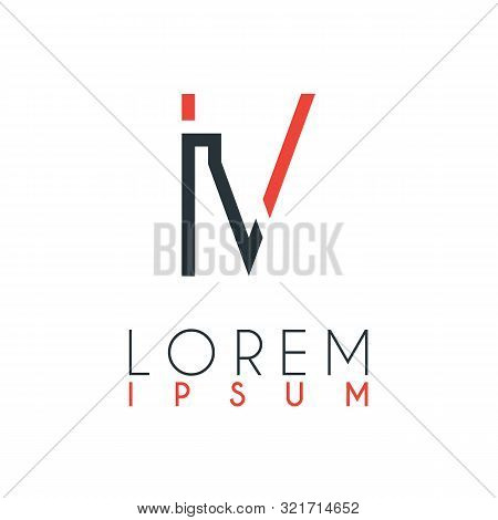Logo Between Letter Vector Photo Free Trial Bigstock
