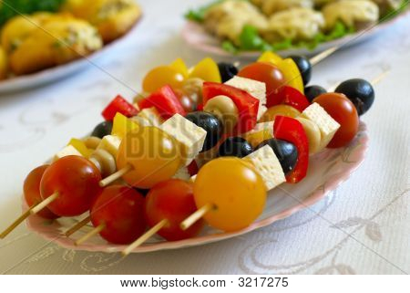 Shashlik From Olives