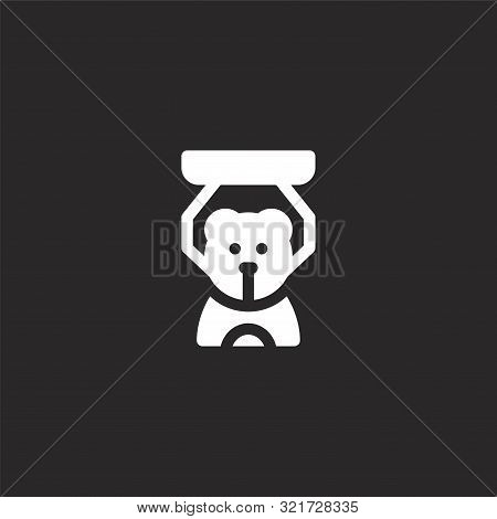Claw Machine Icon. Claw Machine Icon Vector Flat Illustration For Graphic And Web Design Isolated On