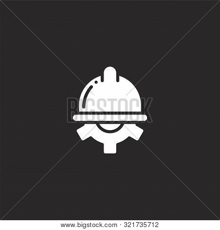 Maintenance Icon. Maintenance Icon Vector Flat Illustration For Graphic And Web Design Isolated On B